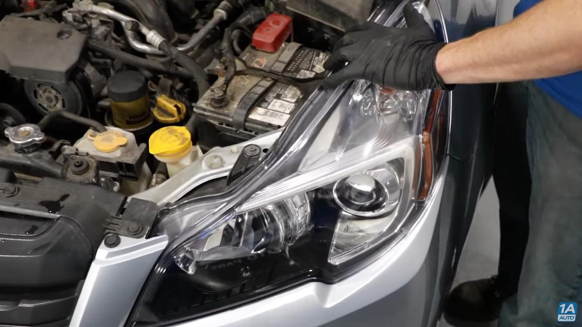 4th gen Subaru Outback headlights
