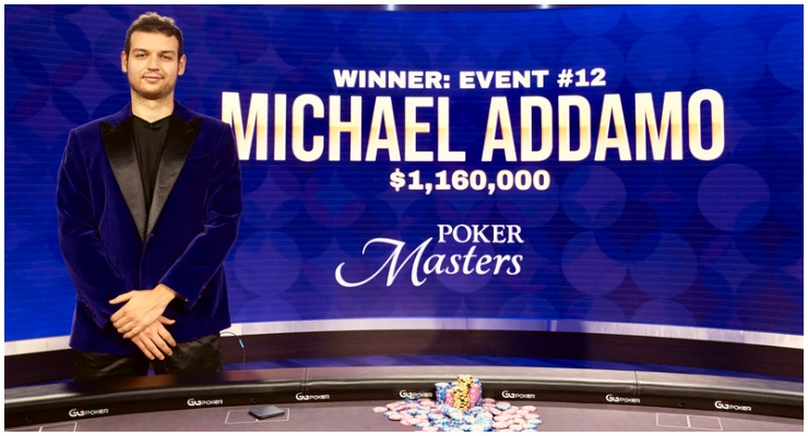 Michael Addamo wins Poker masters Finale for $1.6M at event #12