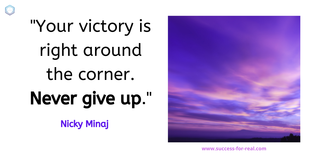 365 Success Quotes For Motivation - Picture Quote By Nicky Minaj