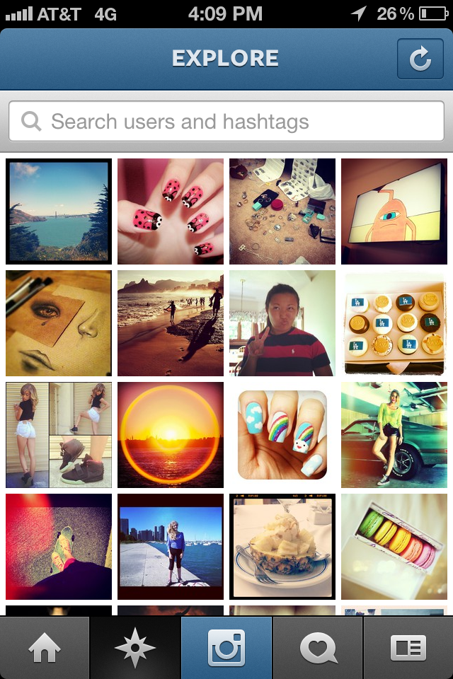 """Instagram's New """"Explore"""" Brings The Future Of Photo Discovery ..."""