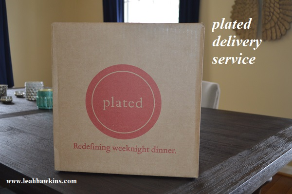 plated delivery service