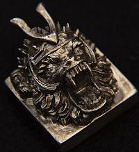 Goldenstar Keycap - Metal projects