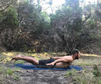 best yoga poses for core strength - locust