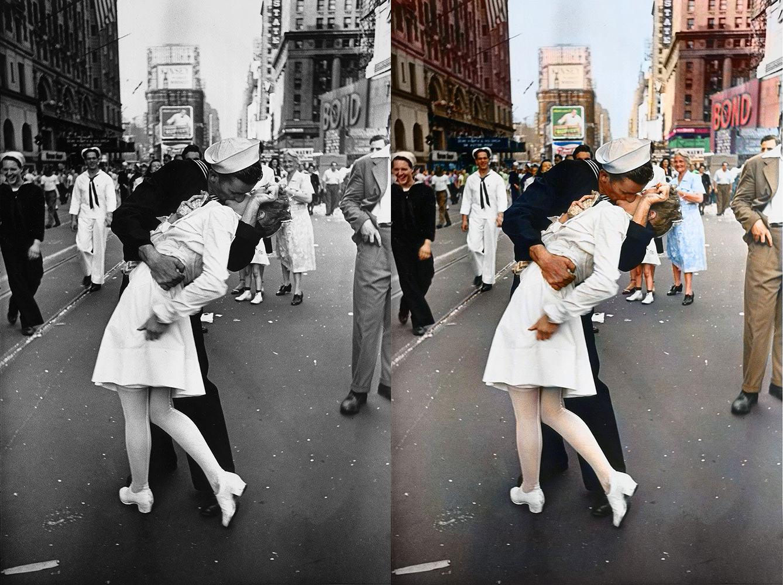Alfred Eisenstaedt V-J Day Times Square