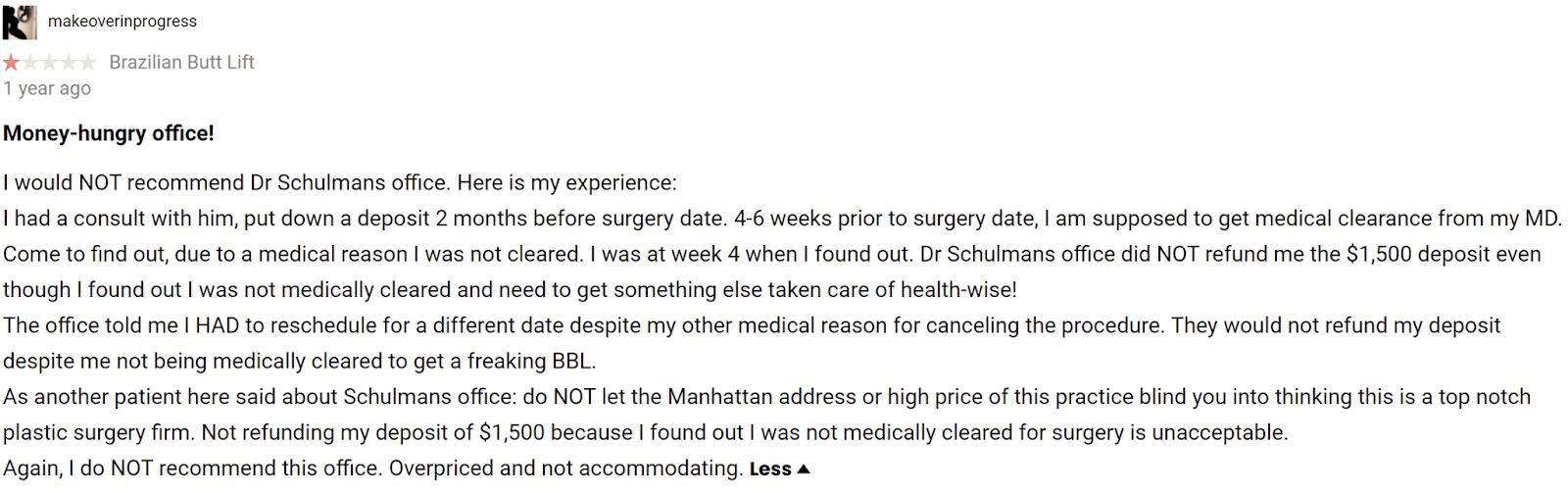 Dr. Matthew Schulman MD 5