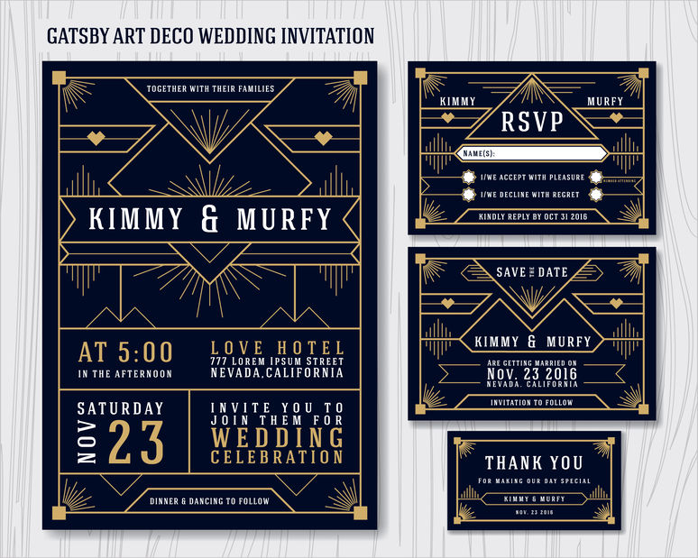 55 Wedding Invitations To Inspire Your 'I Do' Day - 123RF Blog