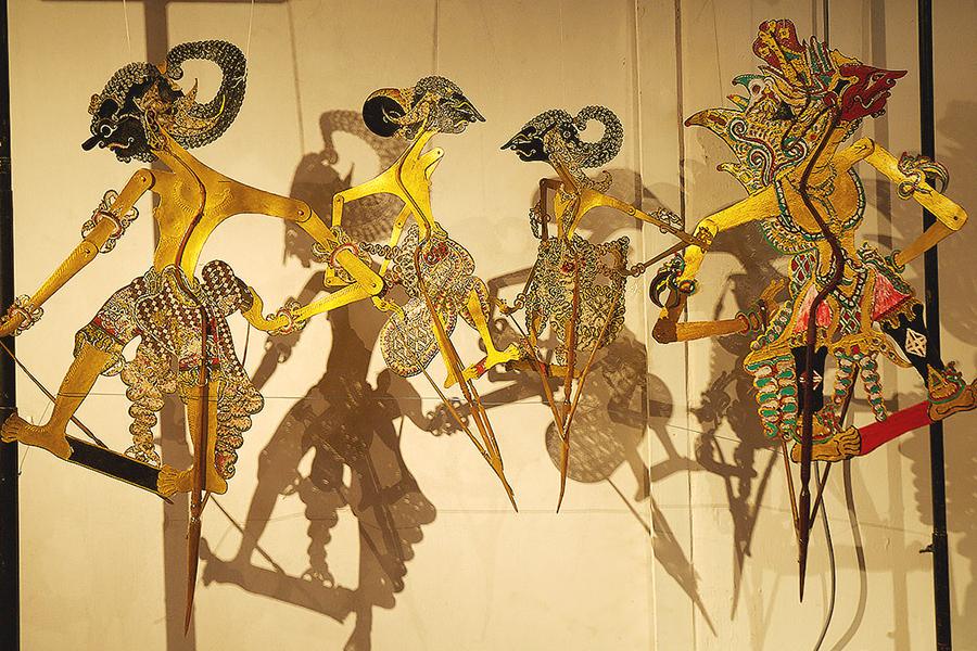Koleksi Wayang di Museum Wayang Jakarta