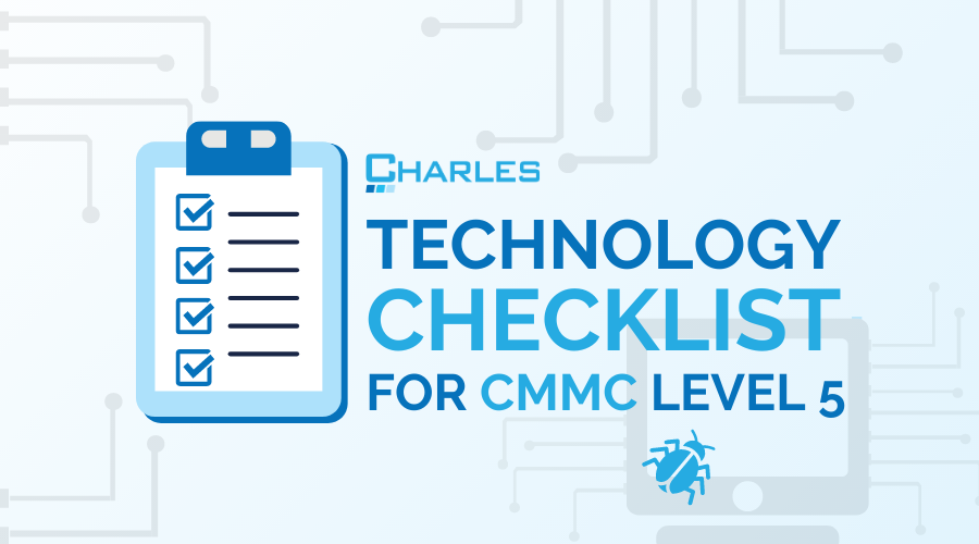 Technology Checklist for CMMC Level 5