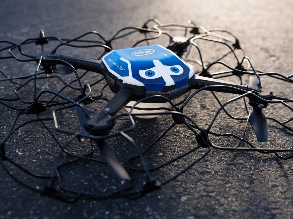 Intel's shooting star drone