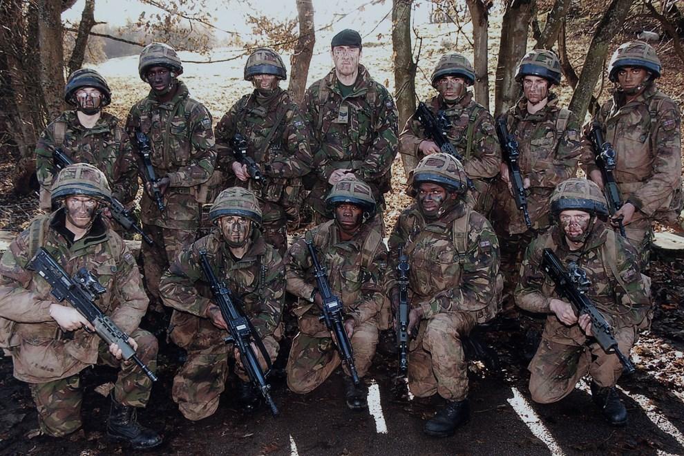 Craig Wood in Afghanistan