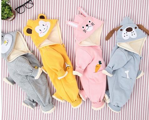 Kombinezon dresowy zimowy dla niemowlaka  3
