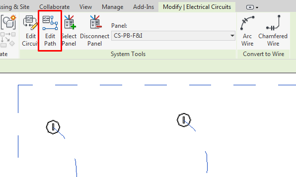 Electrical Modelling - Operation in Revit - Modelical