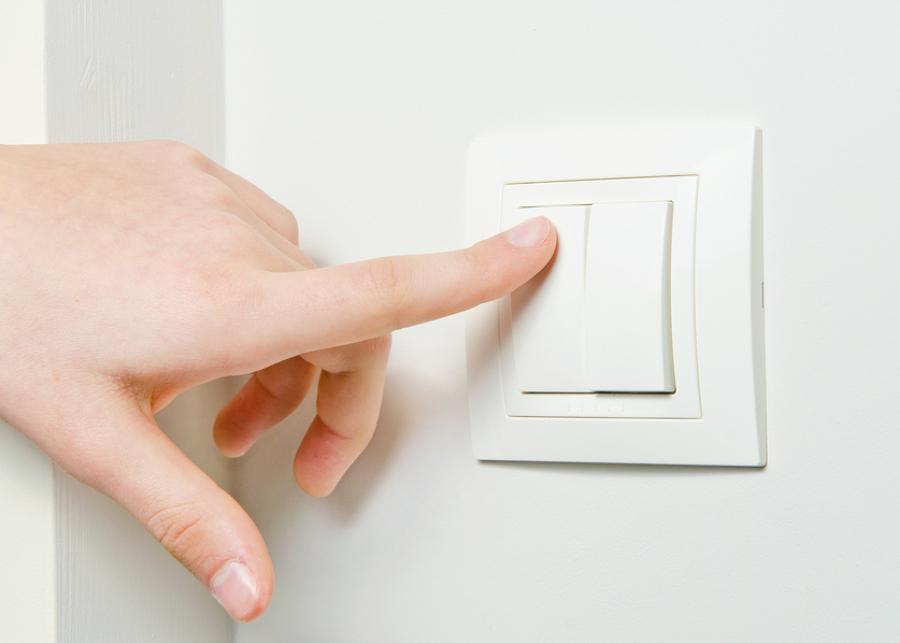 Cambiar un interruptor: el cruzamiento