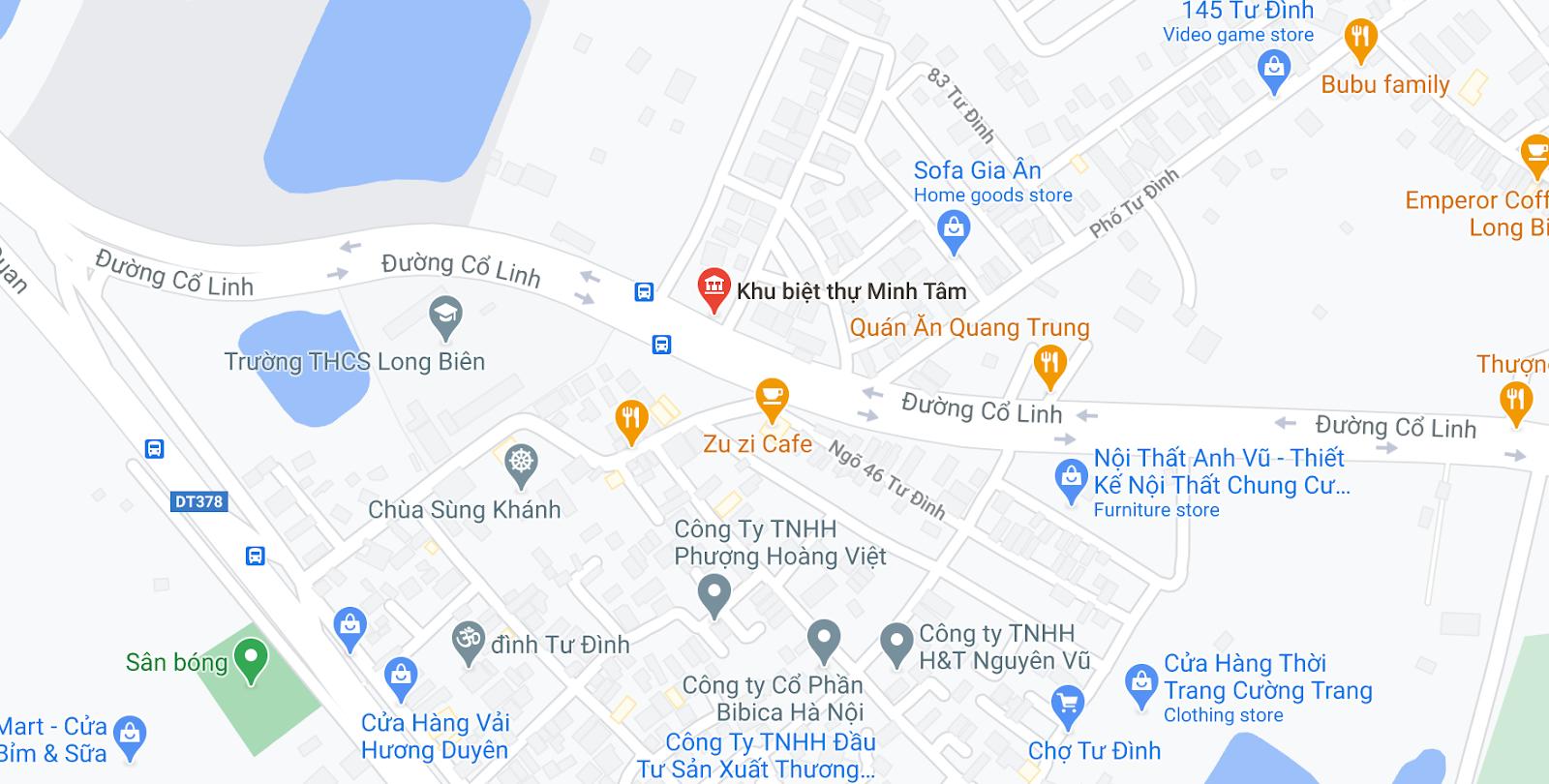 Văn phòng Hà Nội của xe Trung Thành Limouisine