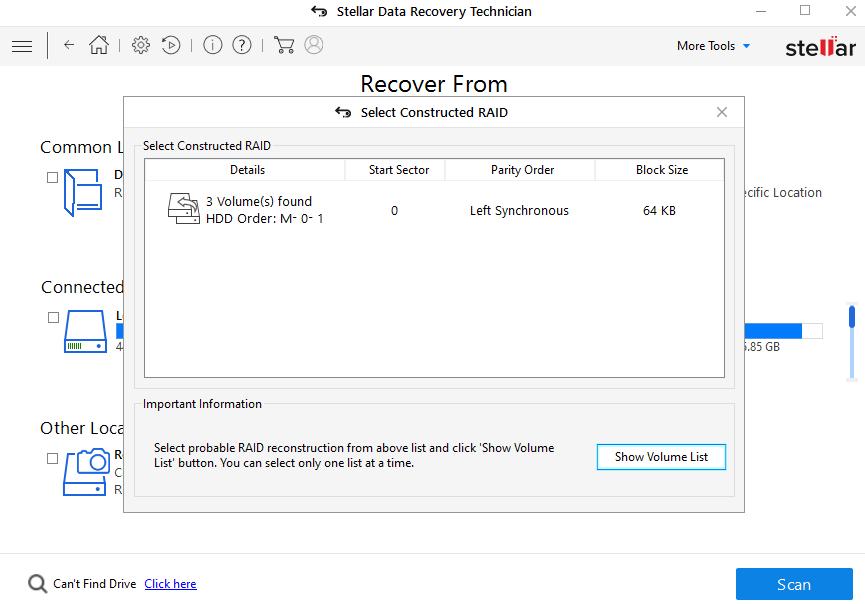 C:\Users\taranjeet.kaur\Desktop\Screenshots SDR Technician\Screenshots SDR Technician\English\9-stellar-data-recovery-technician-rebuild-raid.png