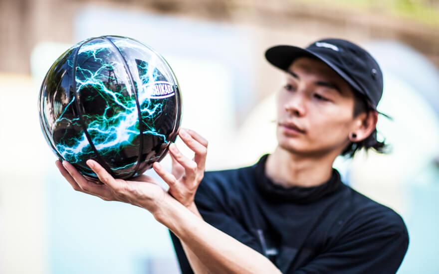 タチカラ最新作フリースタイルバスケットボールモデル ELEMENT ...