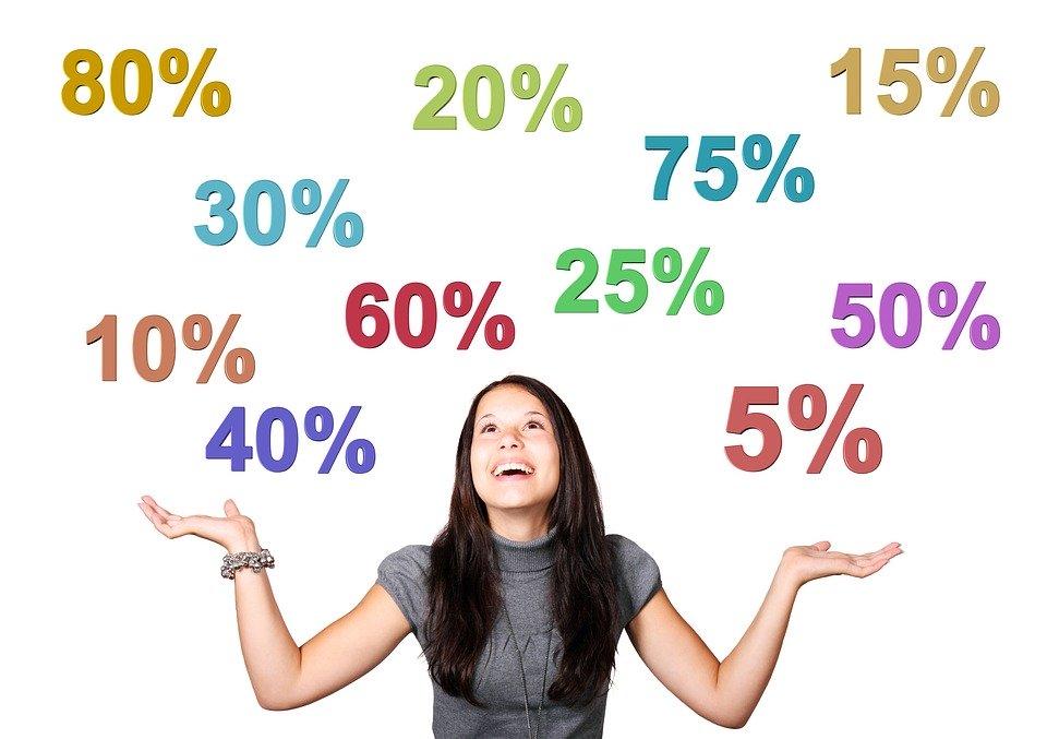 女性, 女の子, パーセント, 物価, ショッピング, 最終的な販売, 利点, 割引, 安い, 夏のセール