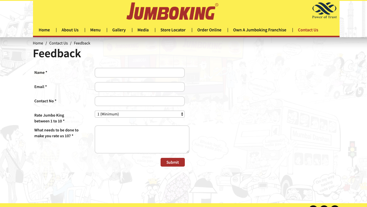 jumboking feedback survey