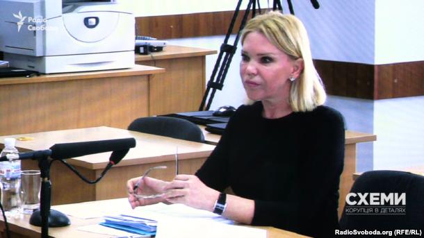Суддя Київського апеляційного господарського суду Людмила Гарник під час проходження переатестації