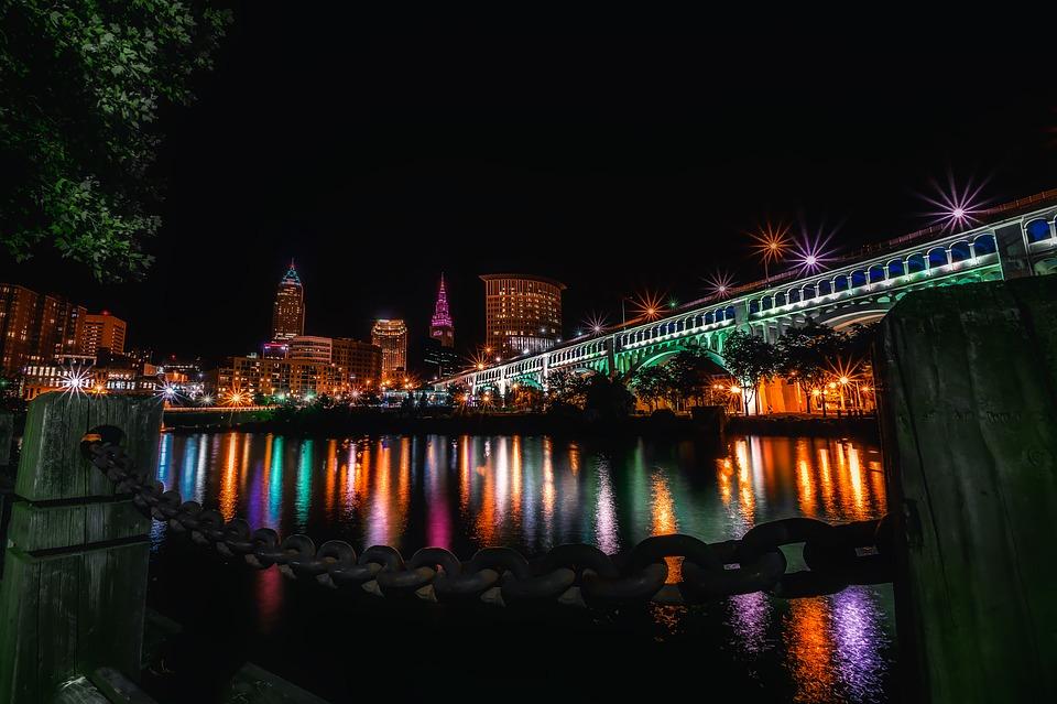 Cleveland, Ohio, City, Urban, Cityscape, Explore