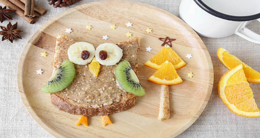 Healthy food for kids  can be made funny