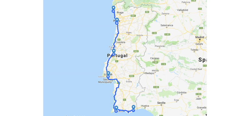 Goboony Portugal H2 Road Trip