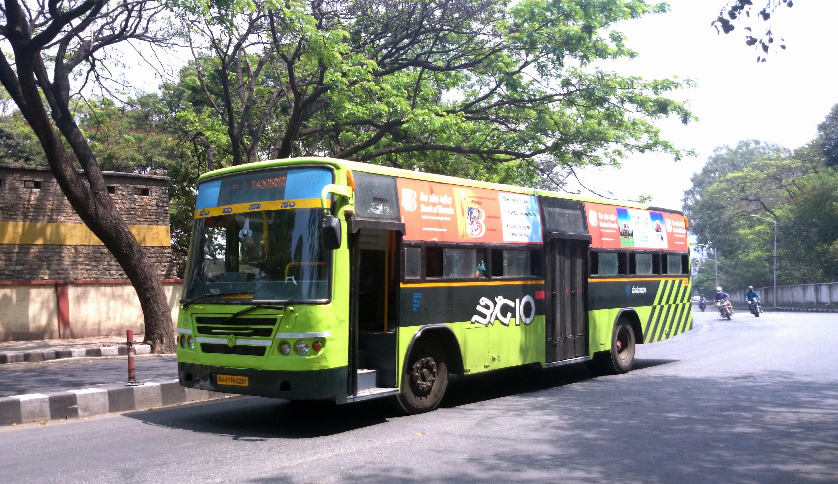 Image credit: https://upload.wikimedia.org/wikipedia/commons/9/94/Bangalore_BMTC_BIG_10_Bus.jpg