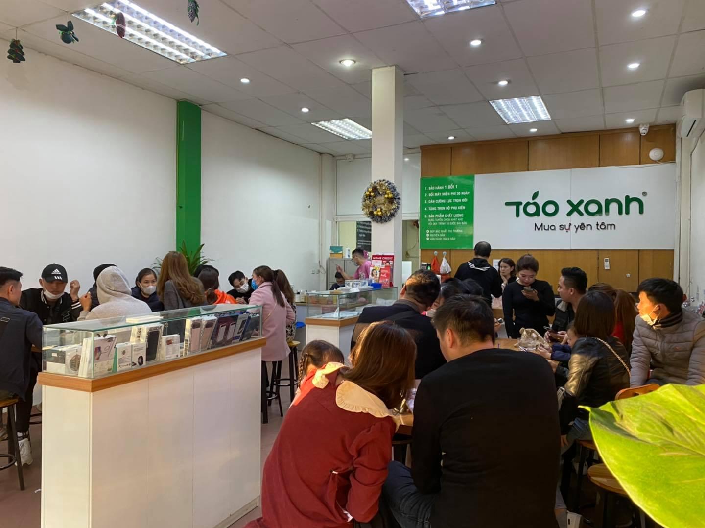 Táo Xanh hiện đang trở thành thương hiệu được nhiều khách hàng tin tưởng tại Hà Nội