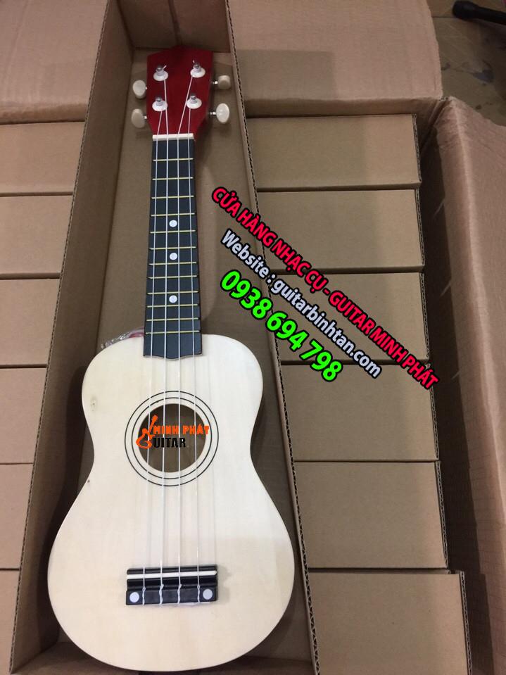 Đàn ukulele màu gỗ