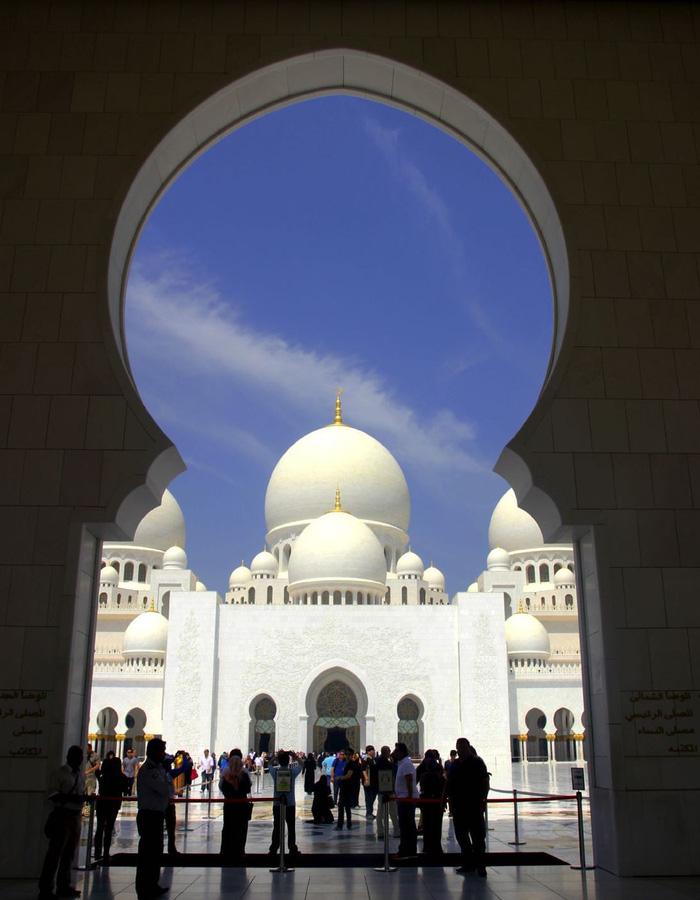 Sheikh Zayed - Thánh đường trắng tuyệt đẹp ở Abu Dhabi - Ảnh 3.