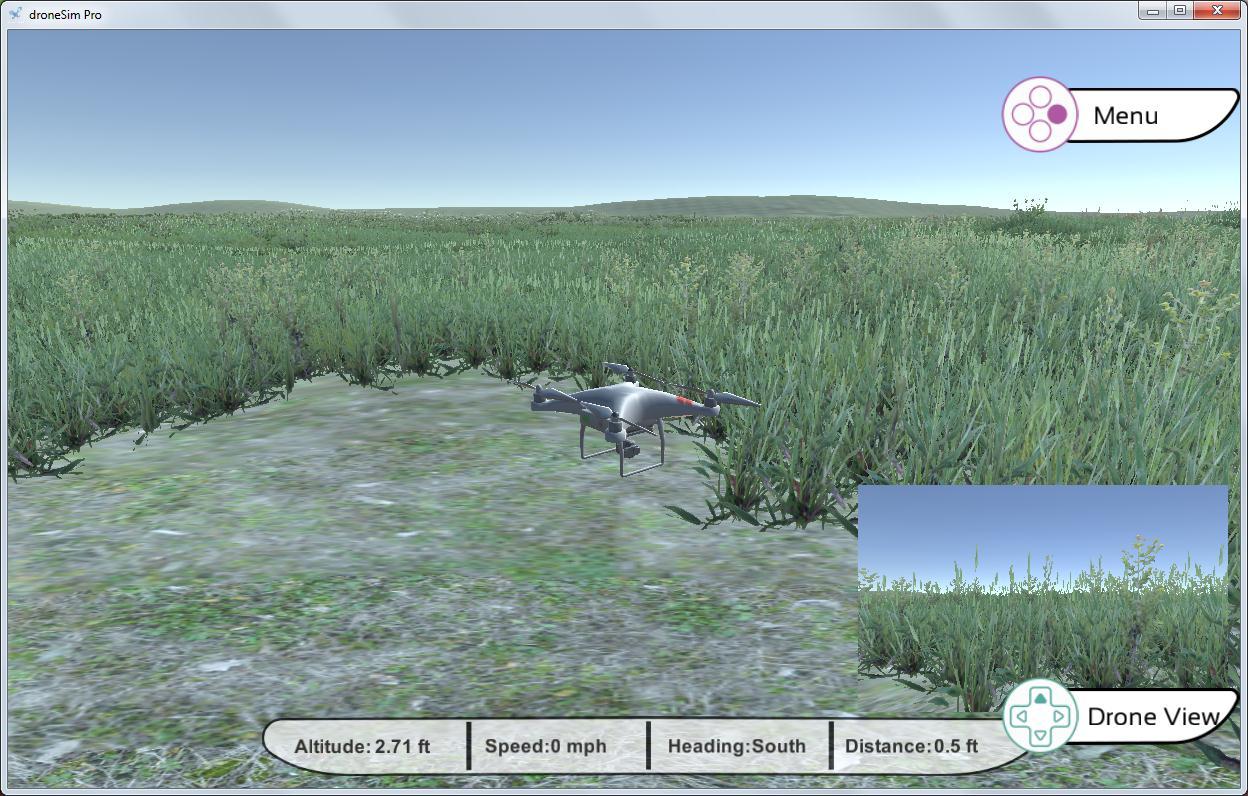 droneSim Pro UAS simulator