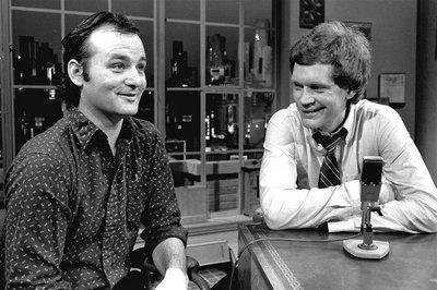 Image result for Late Show with David Letterman bill murray