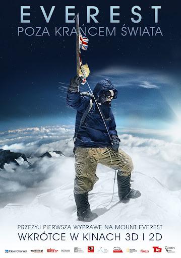 Polski plakat filmu 'Everest - Poza Krańcem Świata'