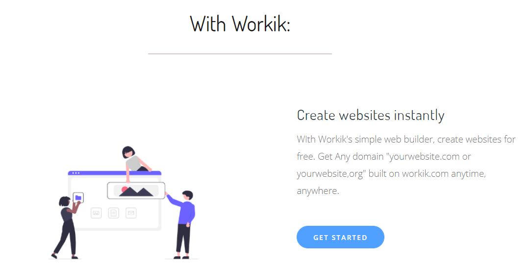 Workik support