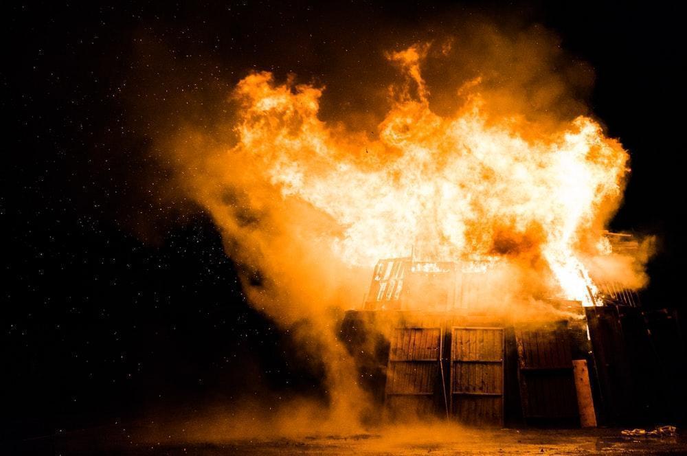 Image result for electrical fire unsplash