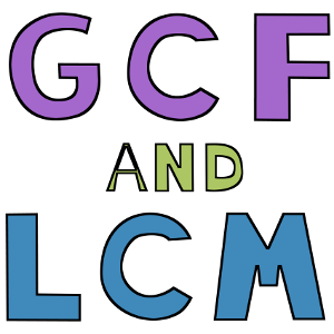 Image result for gcf and lcm