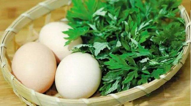 Dùng trứng gà để thử