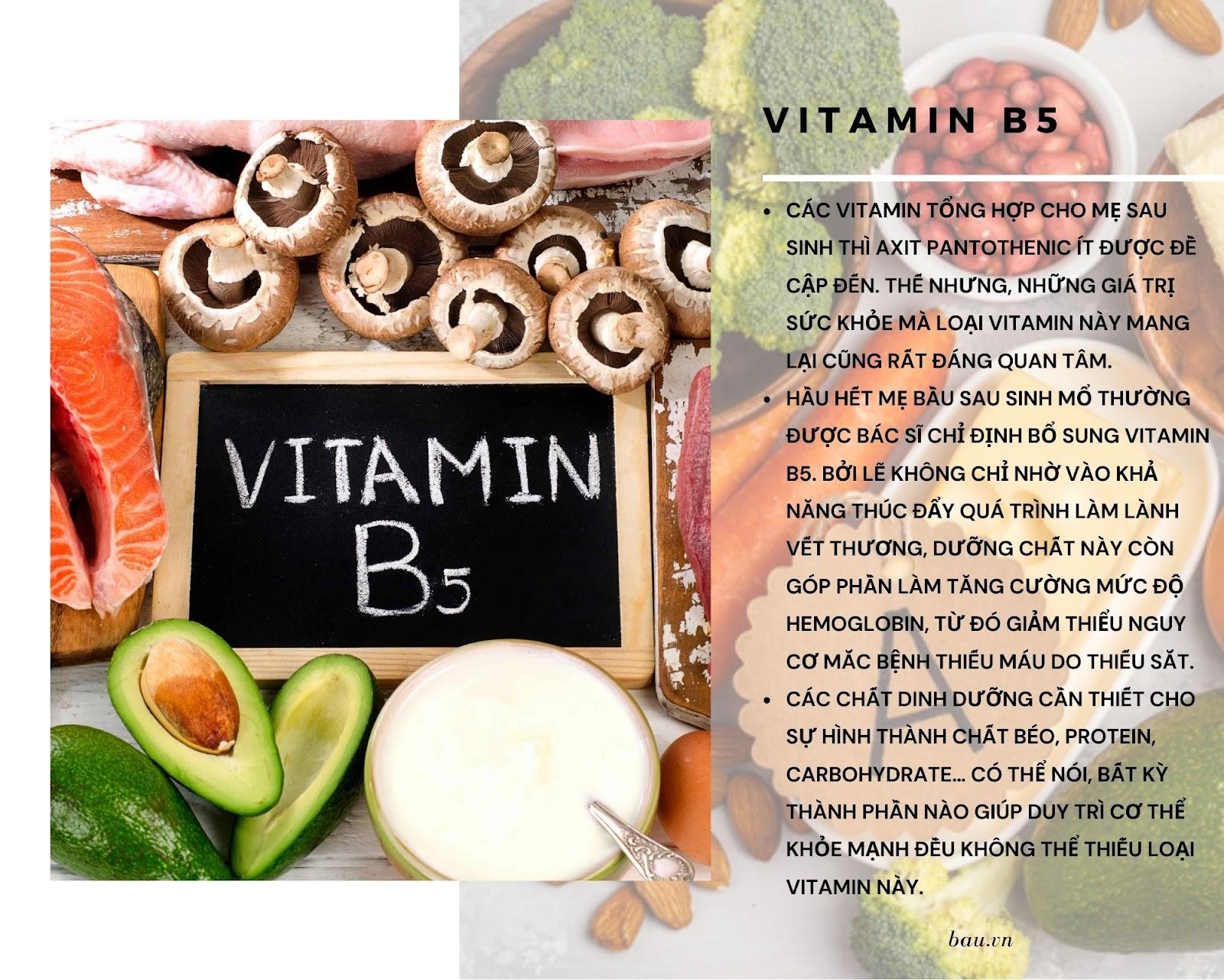 7 loại vitamin cho mẹ sau sinh đang cho con bú - ảnh 2