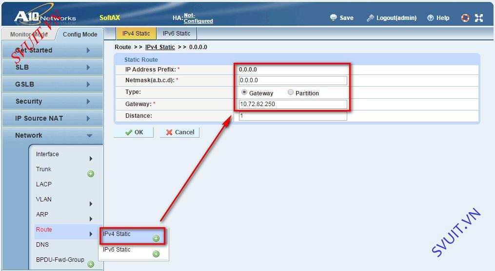 Configure A10 Networks Routed Mode (9)