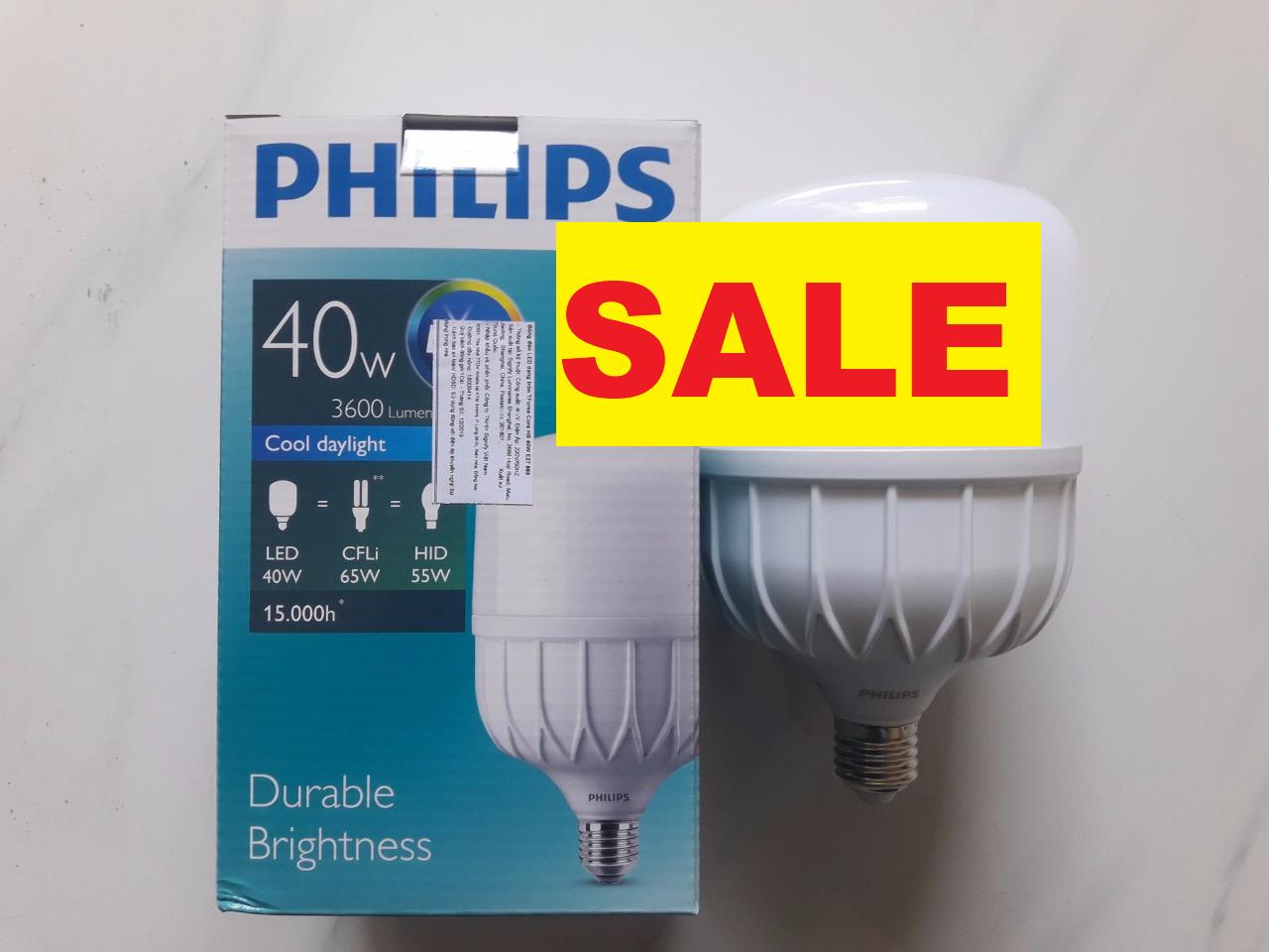 Bóng đèn LED trụ Philips