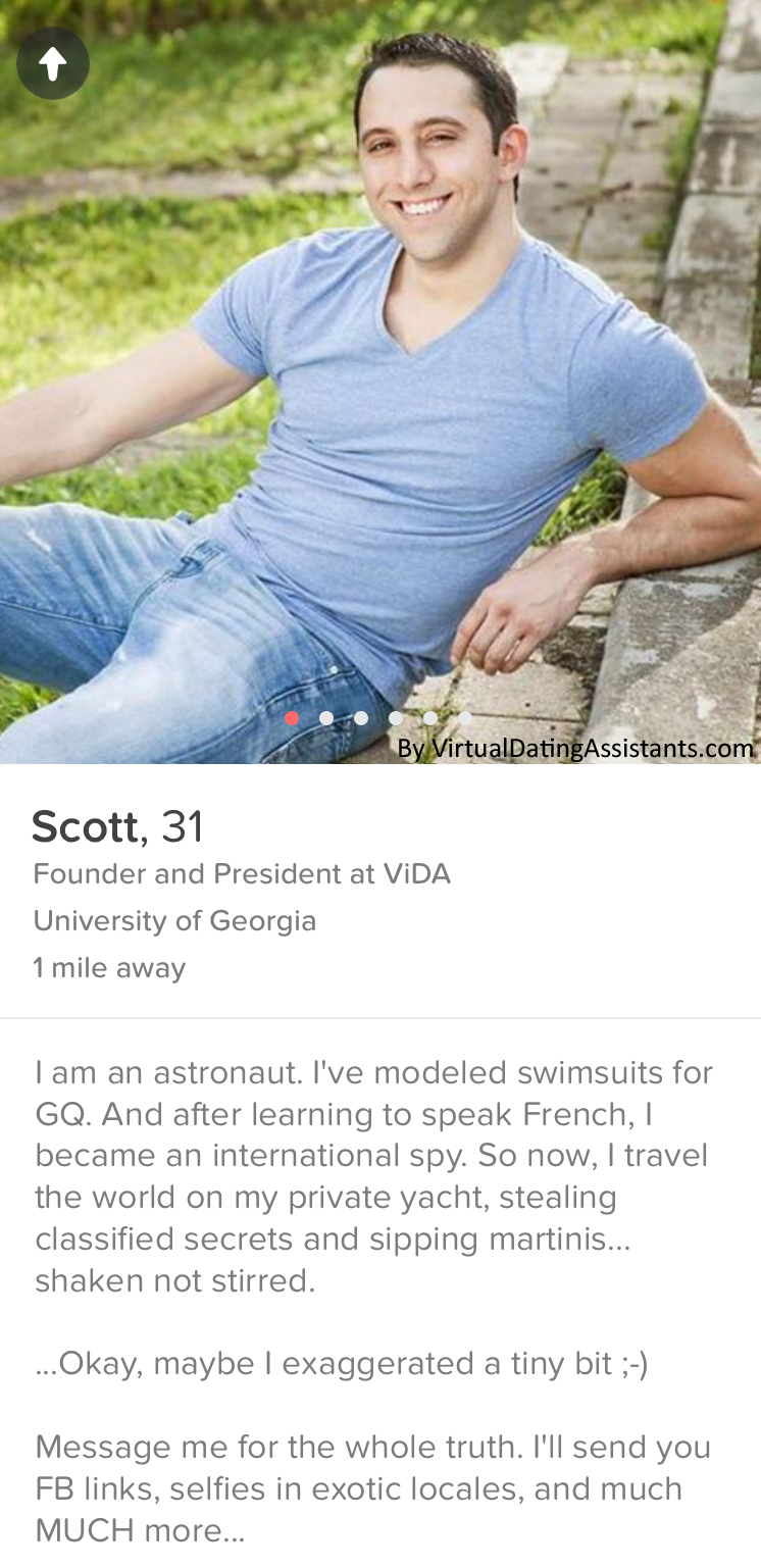 Cocky Funny Online Dating Profile Examples