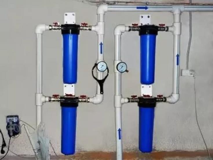 Магистральный фильтр очистки воды