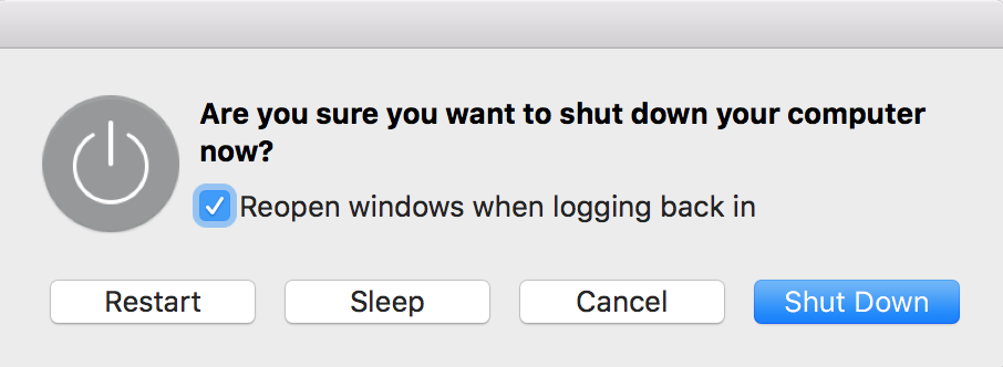 how to force shut down macbook pro