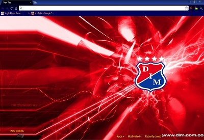 DIM DEPORTIVO INDEPENDIENTE MEDELLIN Theme - Chrome Web Store
