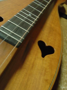 picture of dulcimer strings
