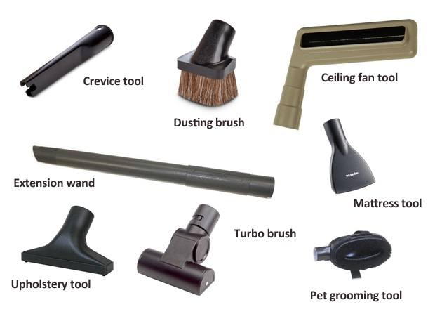 A good vacuum cleaner should come with several useful attachments for different operations  Source; goodhousekeeping.com