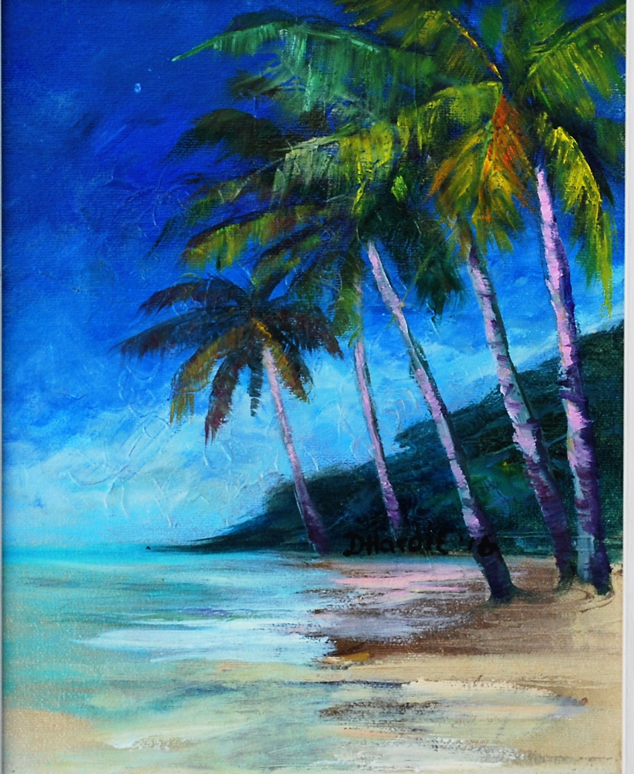 "Art 1 Doreen ""COCONUT BEACH""  8X10.JPG"