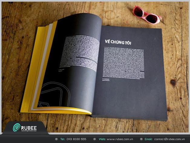 Thiết kế profile Anviet media 2 đẹp