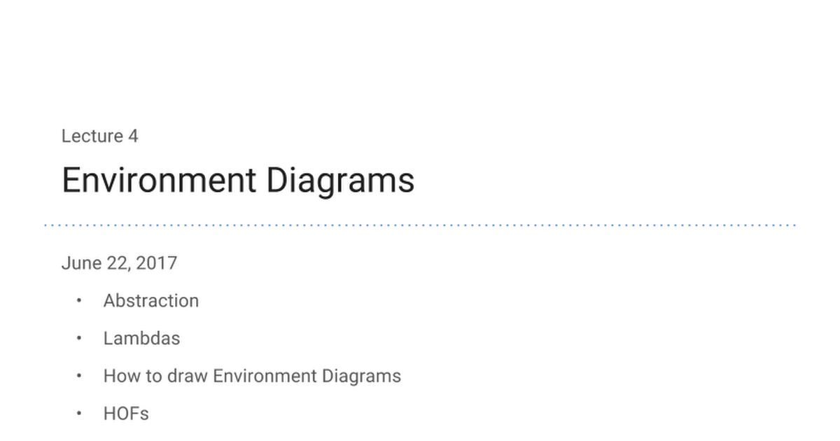 04 Environment Diagrams Google Slides