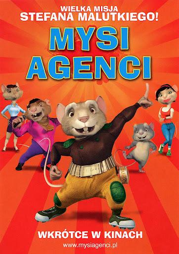 Przód ulotki filmu 'Mysi Agenci'